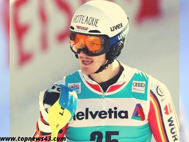 Slalom in Adelboden - Daniel Yule Also The Fastest In The Second Run
