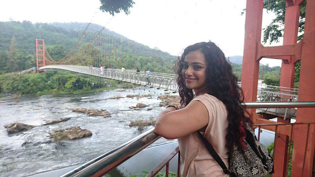 nitya menen song shoot in kerala