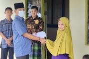 Ketua DPD P3MI Provinsi Riau Santuni Panti Asuhan Muhammadiyah di Tembilahan