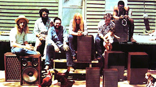 The Allman Brothers in 1970, the year before they recorded 'At Fillmore East' GAB Archive