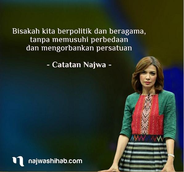 Kata Kata Cinta Najwa Shihab