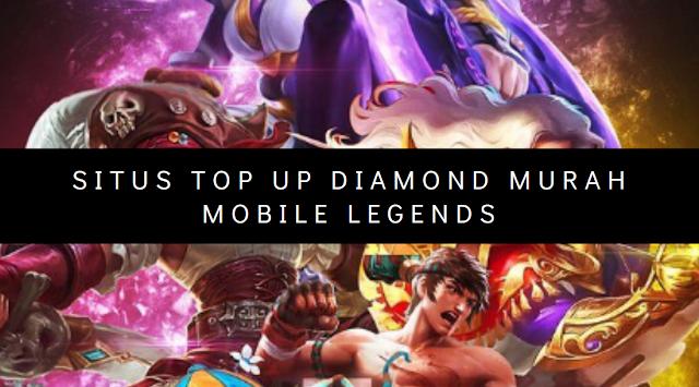 PERBANDINGAN! 6 Situs TOP UP Diamond Termurah MOBILE LEGENDS
