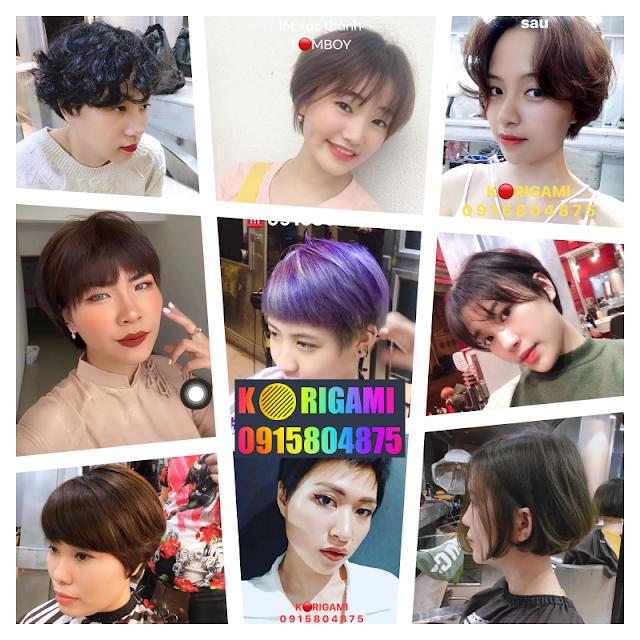 15 kiểu tóc ngắn đẹp nhất do chính chủ tiệm Korigami cắt, xem rồi nghiện
