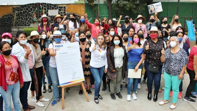 No vamos a permitir más mujeres violentadas en San Pedro Cholula: Paola Angon