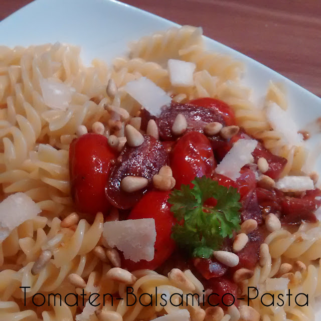 [Food] Tomaten-Balsamico-Pasta