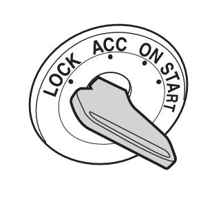 posisi lock kunci kontak mobil