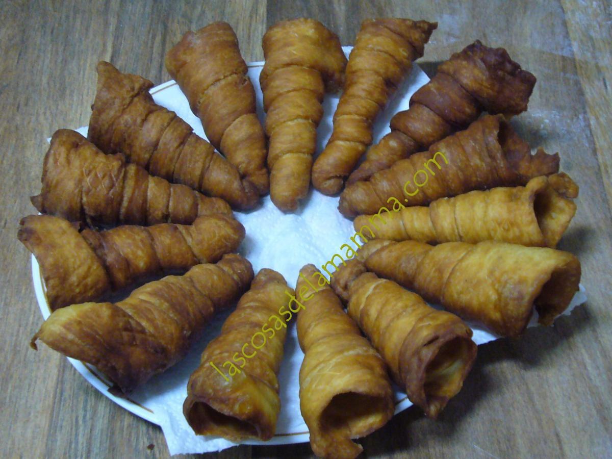 Mi Cocina Es Rosa Cucuruchos De Crema Pastelera