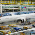 Boeing temporarily suspends 787 production line