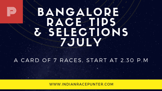 Bangalore Race Tips 7 July, trackeagle, track eagle, racingpulse, racing pulse