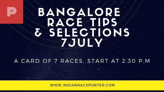 Bangalore Race Tips 7 July