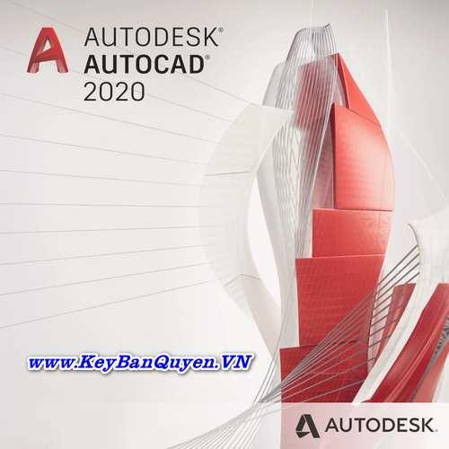 Bán key bản quyền phần mềm Autocad 2017, 2018, 2019, 2020 và 2021