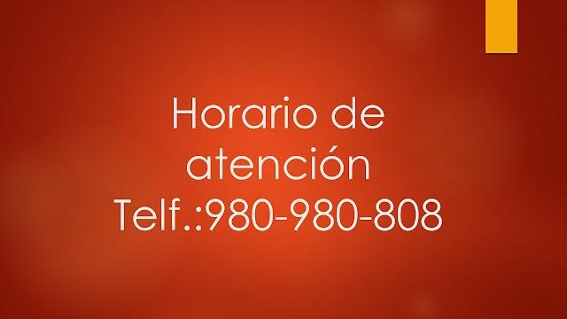 HORARIO DE ATENCIÓN EN TERAPIA DE PAREJA