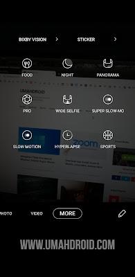 Mengaktifkan Bixby Vision di Samsung