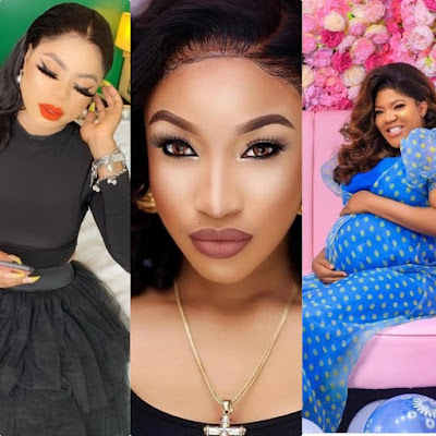 Why Tonto Dikeh and Bobrisky continue to ignore Toyin Abraham's bundle of joy