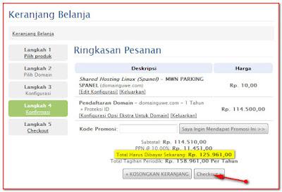 Cara Murah Custom Domain Blogspot di Masterweb