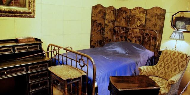 Chambre de Marcel Proust, boulevard Haussmann, reconstituée au musée Carnavalet