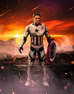 Avengers 4 - Captain america's white quantum suit