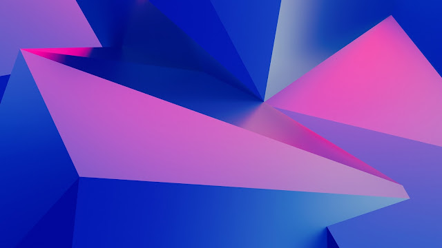 wallpaper 3d geometry abstract