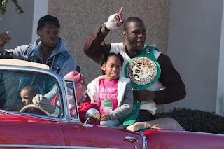 Boxer Deontay Wilder