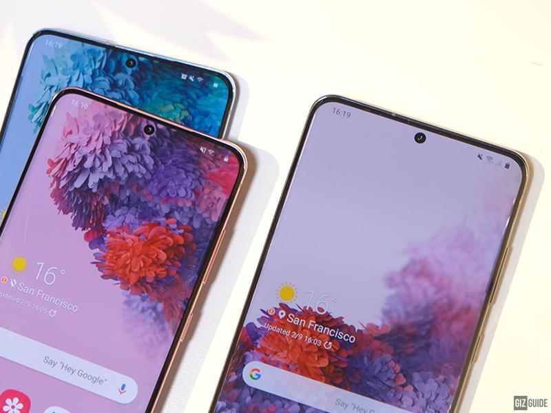 Globe and Smart reveals Galaxy S20 series, Galaxy Z Flip plans
