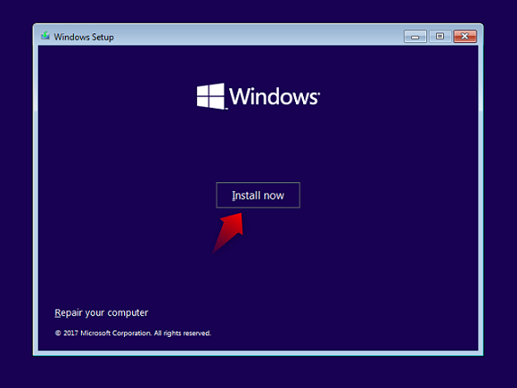 how-t0-install-windows