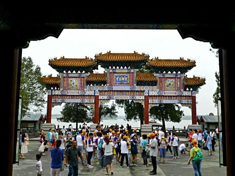 pechino tempio estate