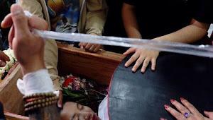 Ma Kyal Sin , Tembakan Peluru Tajam Tepat di Kepala