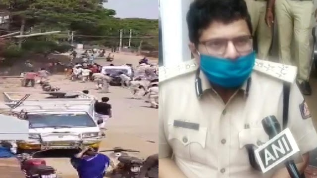 A crowd of Muslims attacked the police team in Karnataka for stopping the Friday prayers