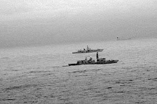 Inggris Kawal Kapal Perang Rusia