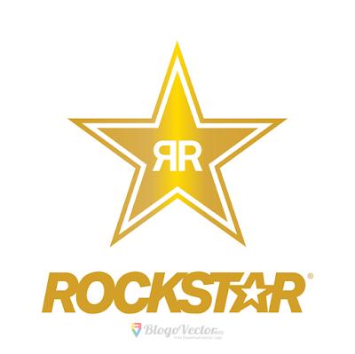 Rockstar energy drink Logo Vector