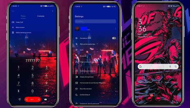 Download Tema Gaming Android Oppo dan Realme