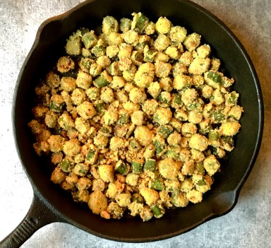 Low Carb Fried Okra Recipes
