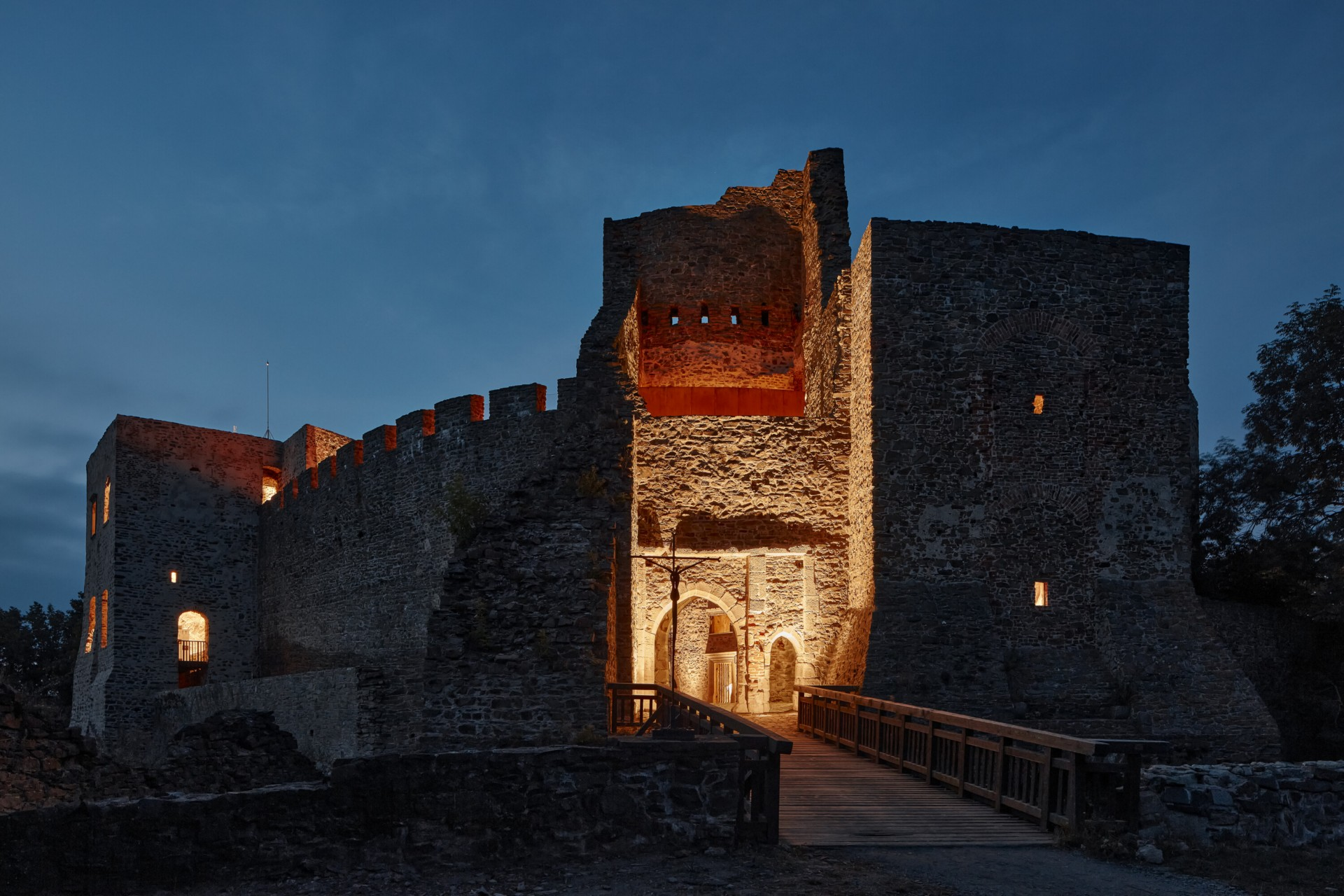 Helfštýn Castle, Moravia, Czech Republic