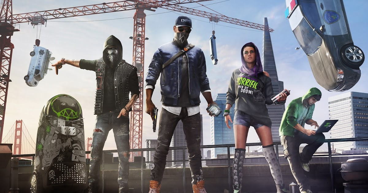 Gamers Info World: Video Game Watch Dogs 2 Review