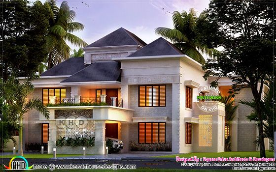 Superb grand 5 BHK house in 3400 square feet