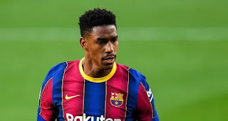 Barcelona block Firpo's move to Milan as Brazilian set to stay until summer