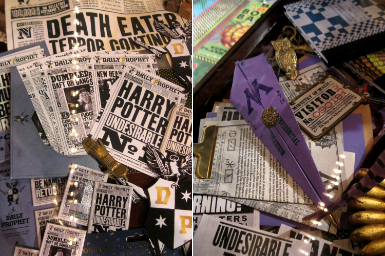 MinaLima Graphic Design for Harry Potter