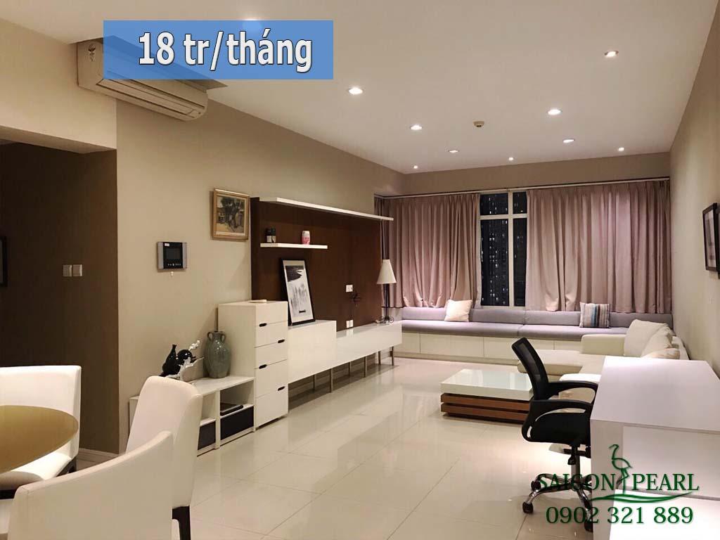 Thuê ngay căn hộ Saigon Pearl tòa Topaz 1 với giá chỉ 18 tr/tháng 2PN