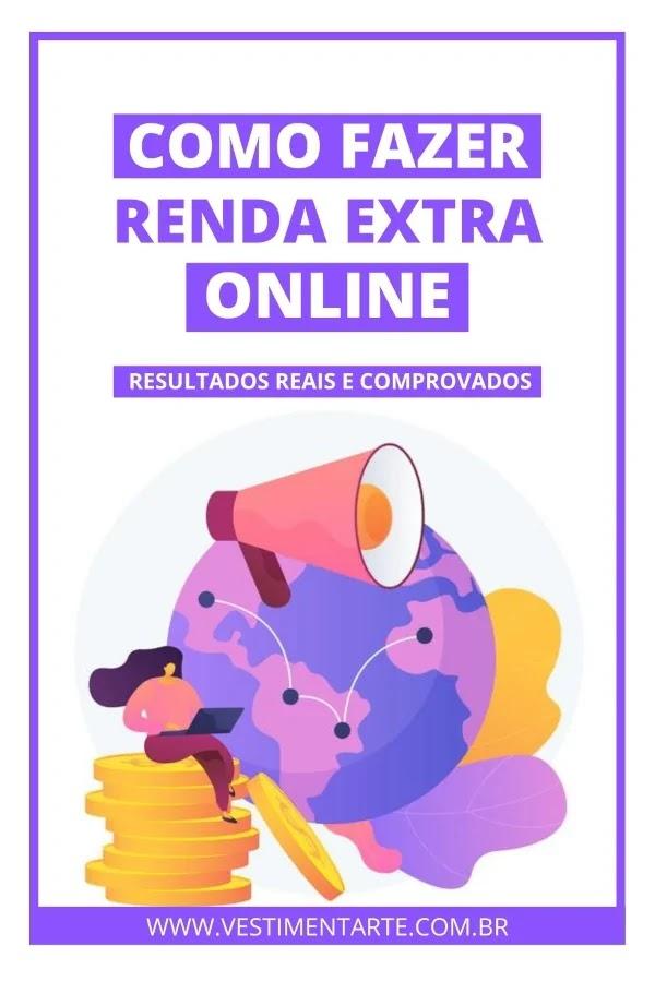 trabalhar em casa renda extra online