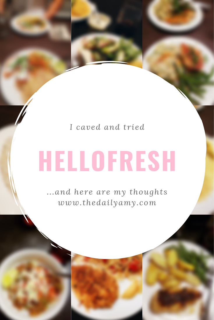 Hello Fresh Review - my honest thoughts