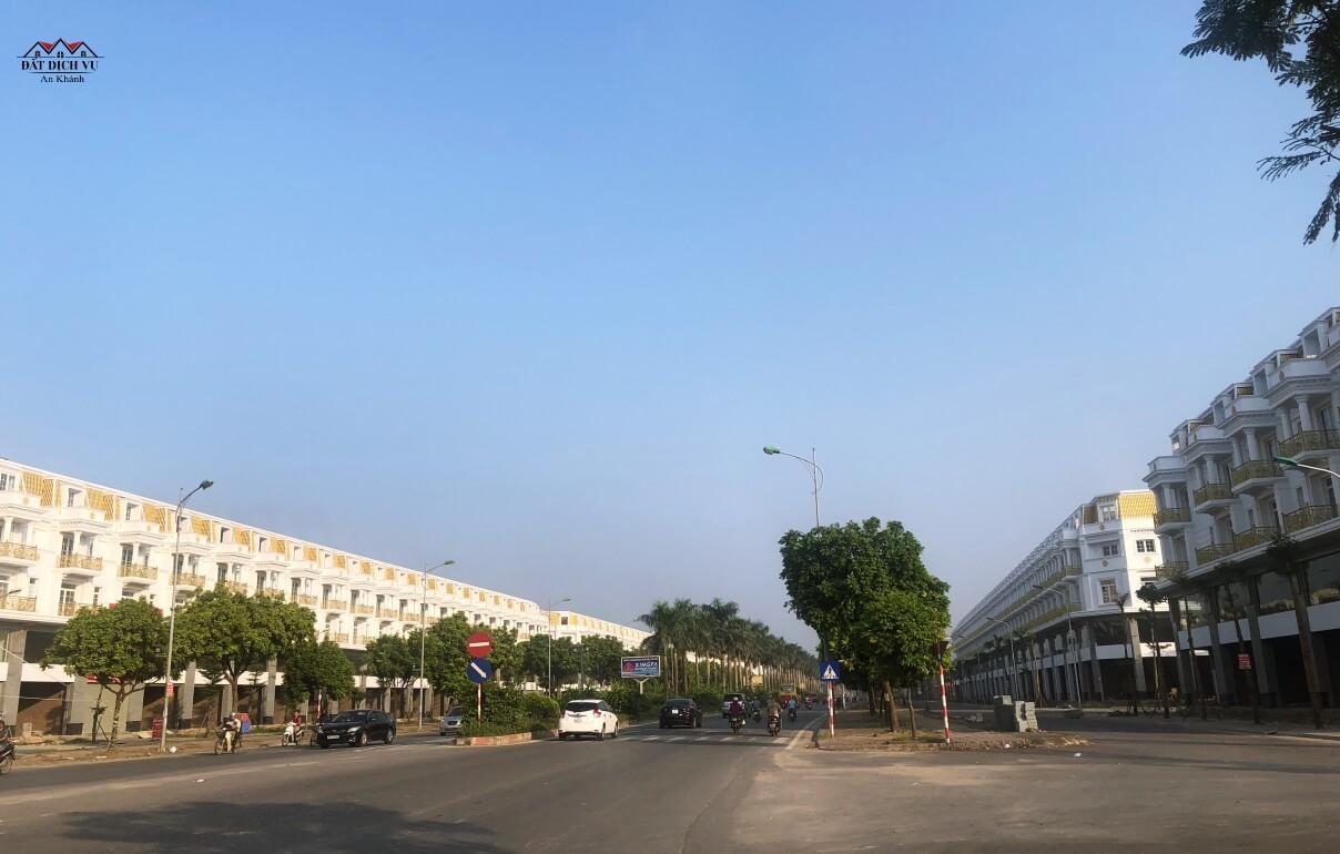 Khu shophouse Lê Trọng Tấn cách khu đất dịch vụ An Khánh chừng 1 Km đang bán với giá thấp nhất 12 tỷ/căn