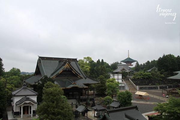 que ver en Narita templos