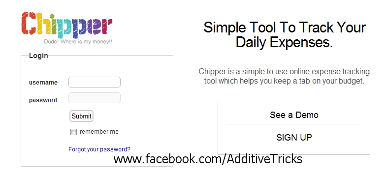 Simple Tool To Track Your Daily Expenses Online Additive Tricks