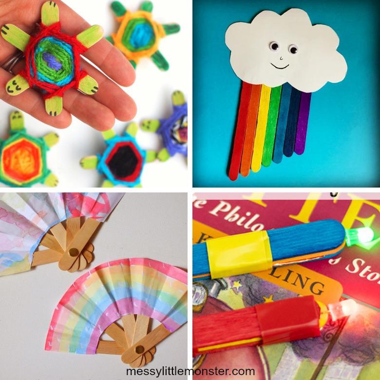 popsicle stick crafts for kids