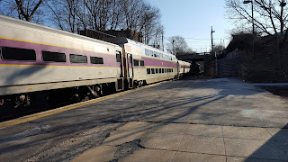 Franklin train heading to Forge Park,which is what it won't do this Sat-Sun due to track work