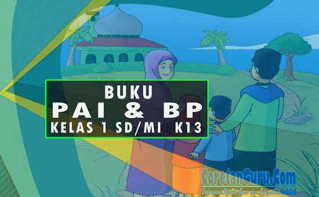 Buku PAI dan BP Kelas 1 SD/MI Kurikulum 2013 Revisi Terbaru
