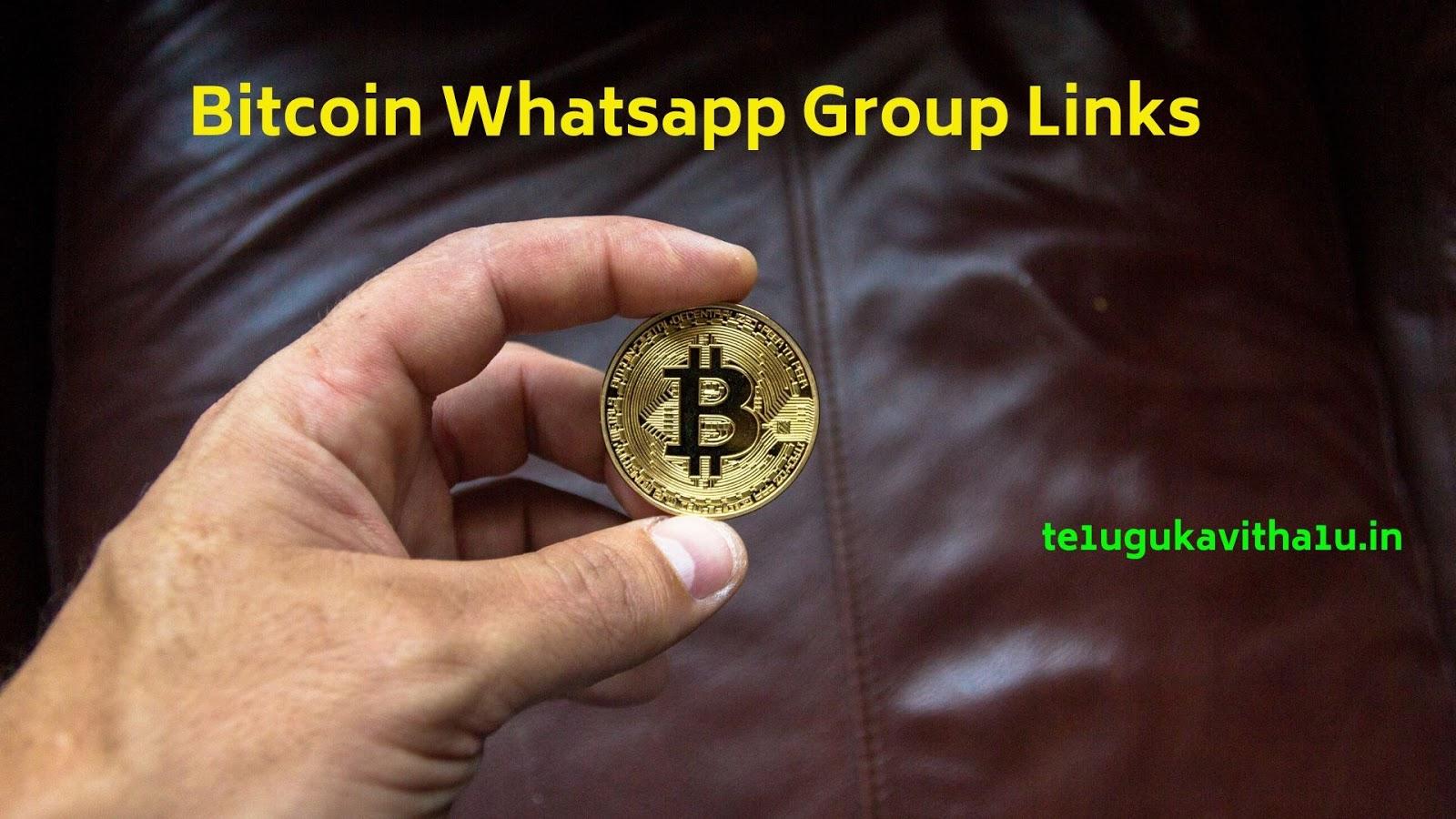 grupul bitcoin whatsapp