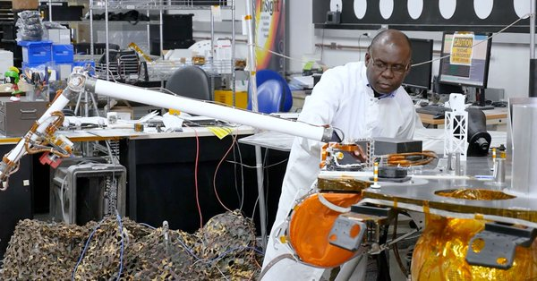Watch: Ghanaian Engineer, Dr. Ashitey Trebi-Ollennu Works on Robotic Arms for Mars