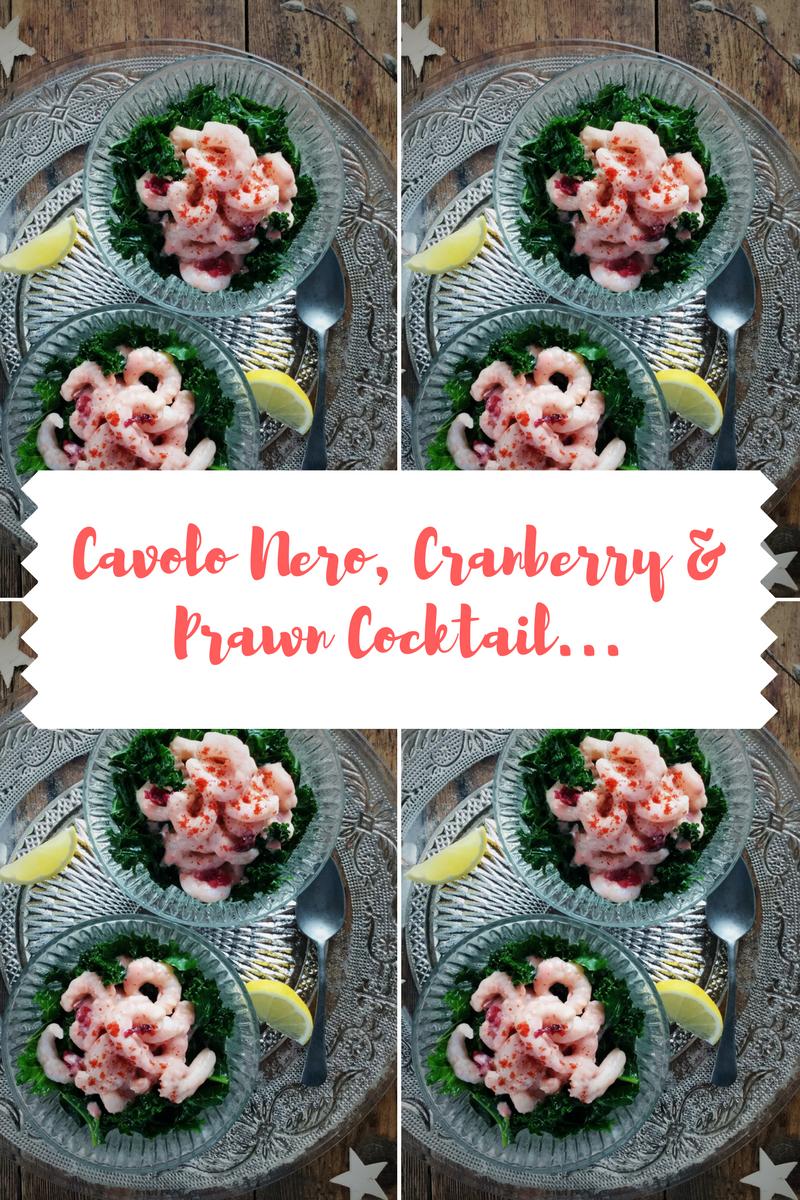 Cavolo Nero, Cranberry & Prawn Cocktail How To Make
