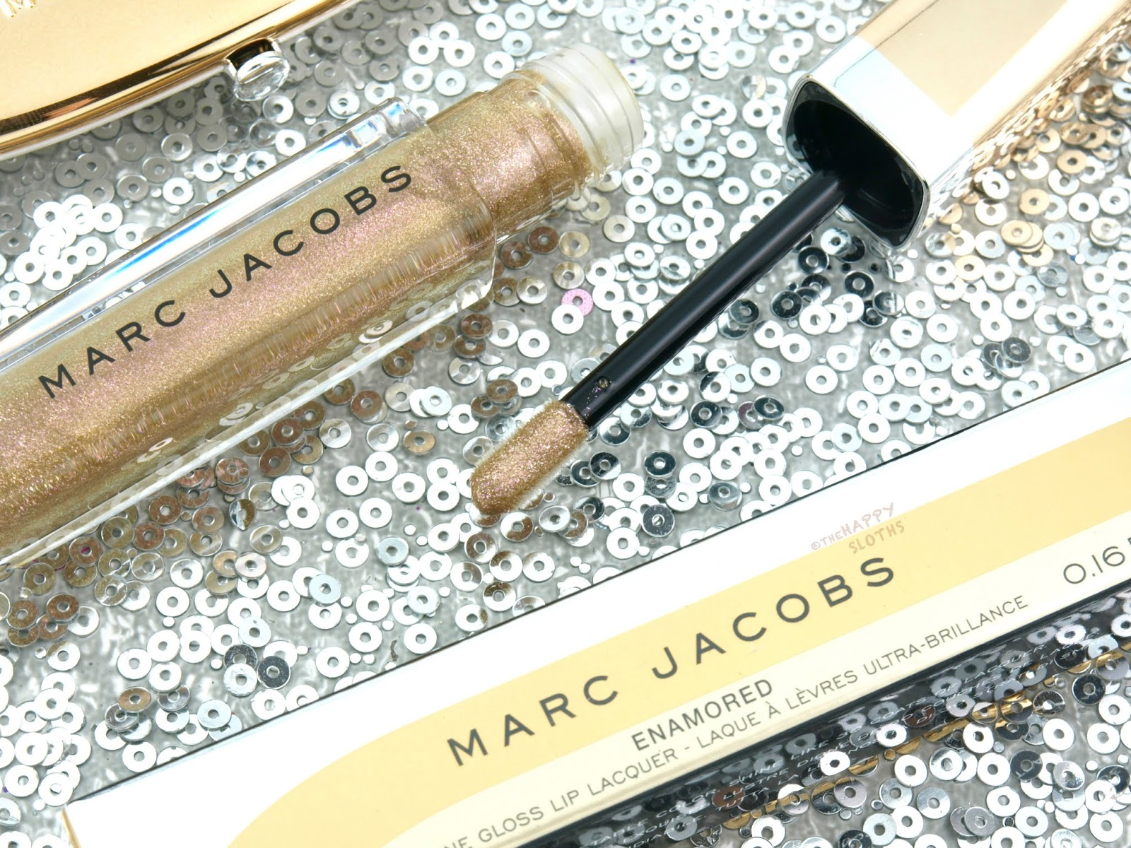 "Marc Jacobs | Holiday 2018 Enamored Hi-Shine Lip Lacquer Lipgloss in ""368 Shine A Light"": Review and Swatches"